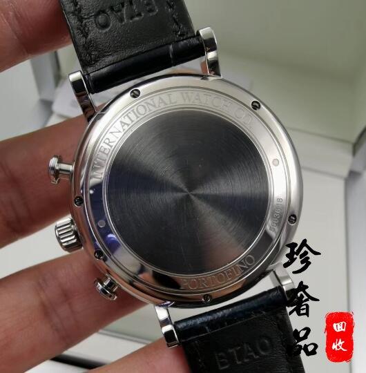 北京回收二手万国柏涛菲诺IW391031系列手表价格多钱
