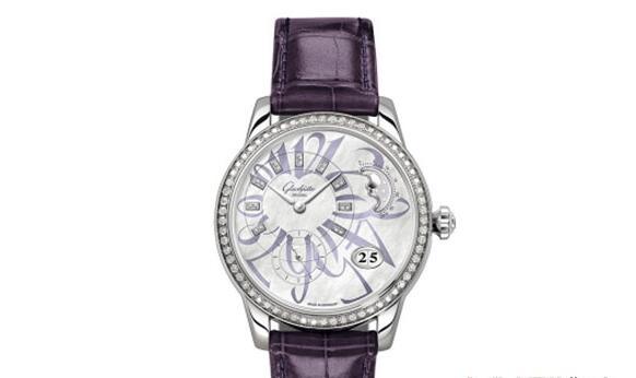情人节送什么女表给对方好?济南格拉苏蒂原创手表几折回收