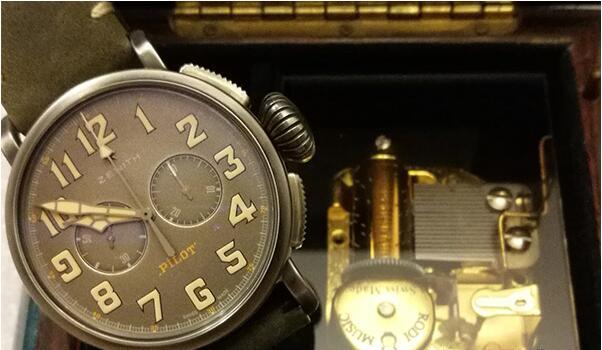 二手真力时飞行员系列手表在济南有回收的店吗?