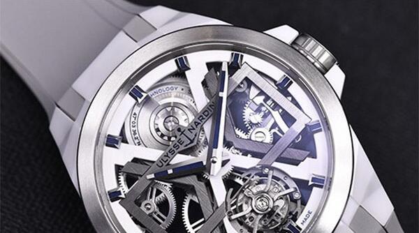 北京哪里回收二手雅典表镂空陀飞轮机械手表价格高?