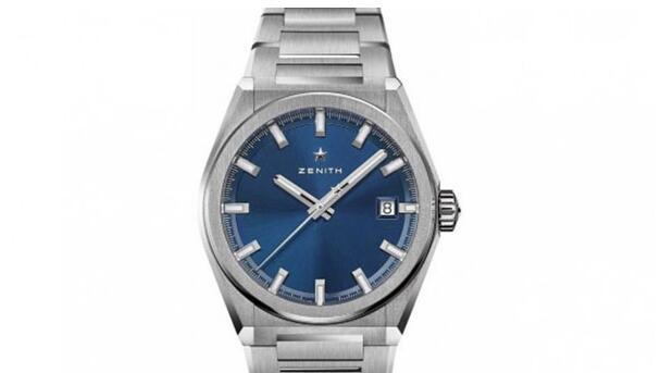 北京哪里回收二手真力时DEFY系列蓝盘手表价格高