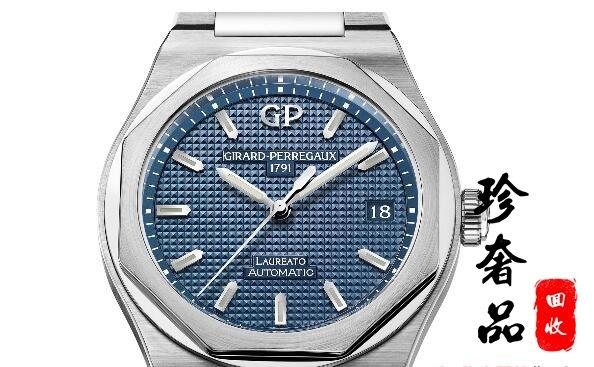 济南芝柏桂冠系列手表回收价格大概是多少钱?