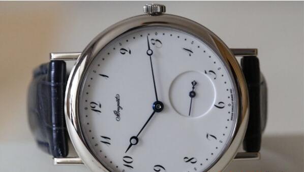 济南宝玑经典系列正装皮带手表回收价格一般多少钱