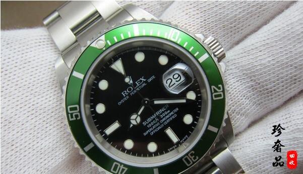 北京帝舵绿圈和劳力士绿鬼哪个手表回收价格高
