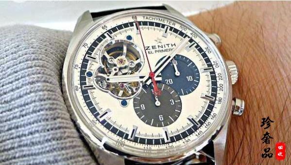 济南真力时手表一般几折回收,二手名表回收价格如何