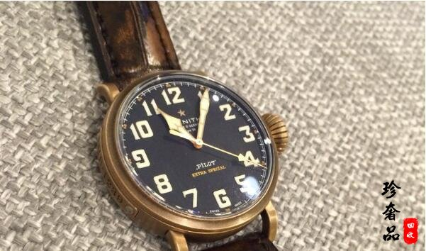 济南哪里回收二手真力时手表价格高?