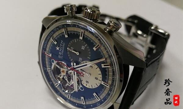 济南二手真力时手表回收价格一般多少钱?