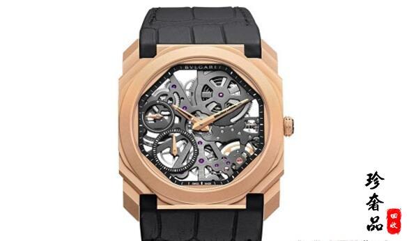 济南宝格丽手表首饰回收中心在哪?镂空腕表OCTO的回收价格