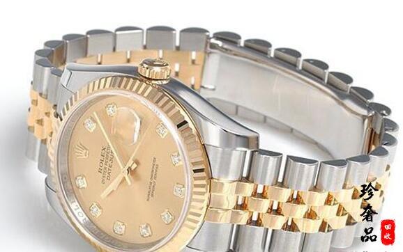 北京劳力士116233香槟盘镶钻腕表回收行情如何?