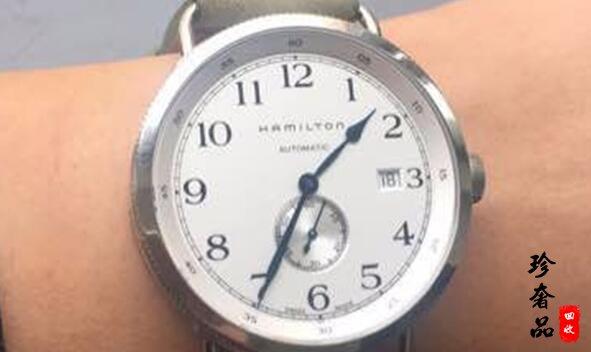 北京二手汉密尔顿手表回收大概能卖多少钱?