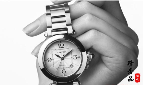 济南回收二手卡地亚帕莎系列手表大概多少钱?