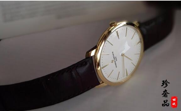 济南二手江诗丹顿手表回收价格大概是多少钱?
