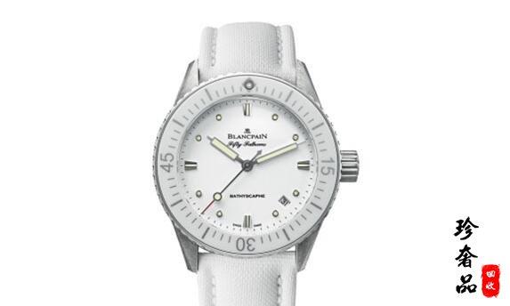 济南二手宝珀五十噚手表回收能卖到几折?