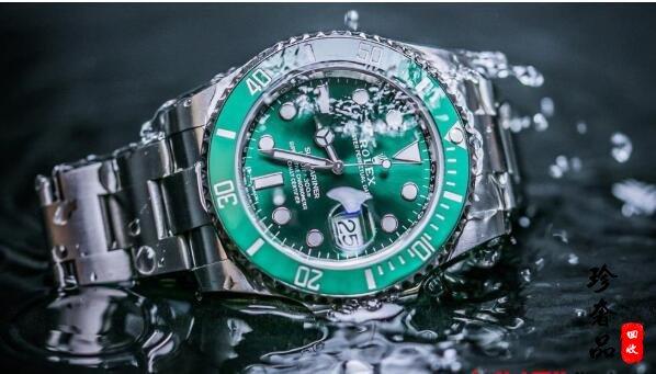 济南二手劳力士黑绿水鬼手表的回收价格能有多少钱