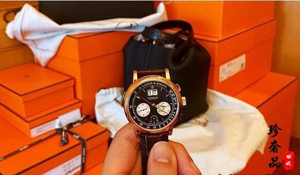 济南哪里回收新款朗格DATOGRAPH手表,二手回收价格高吗?