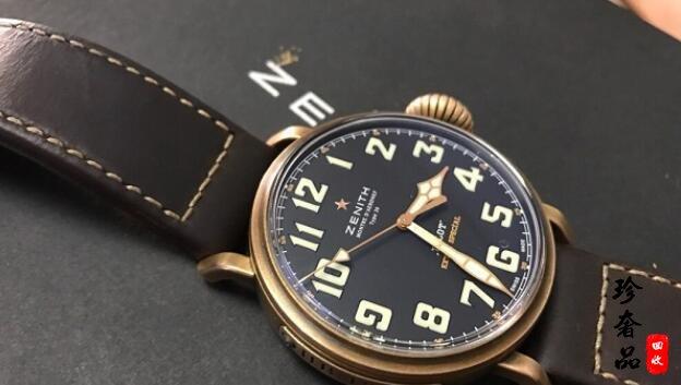 济南二手真力时飞行员系列手表回收价格是几折?