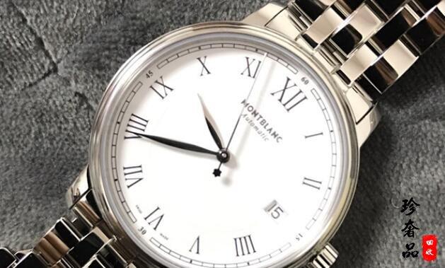 济南万宝龙手表U0112610系列回收价格能有几折?