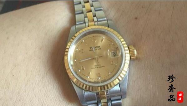 济南二手帝舵间金手表大概多少钱?回收价格能卖几折