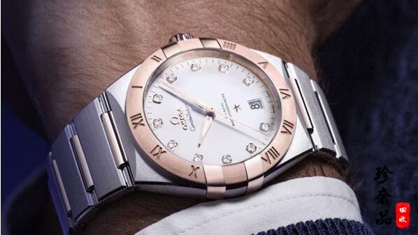 济南欧米茄星座系列间金手表回收价格能卖几折