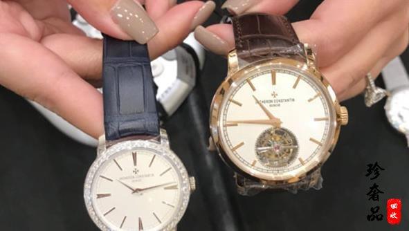 济南哪里有回收江诗丹顿传袭系列陀飞轮手表的地方
