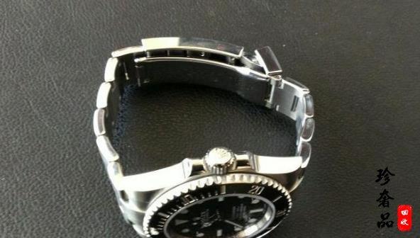 济南二手劳力士黑水鬼手表回收价格高如何