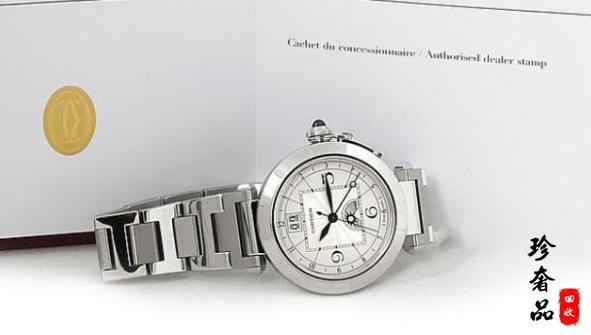 济南二手卡地亚经典帕莎系列手表回收多少钱