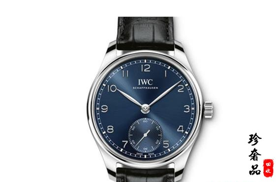 济南万国葡萄牙手表蓝色表盘款哪里回收