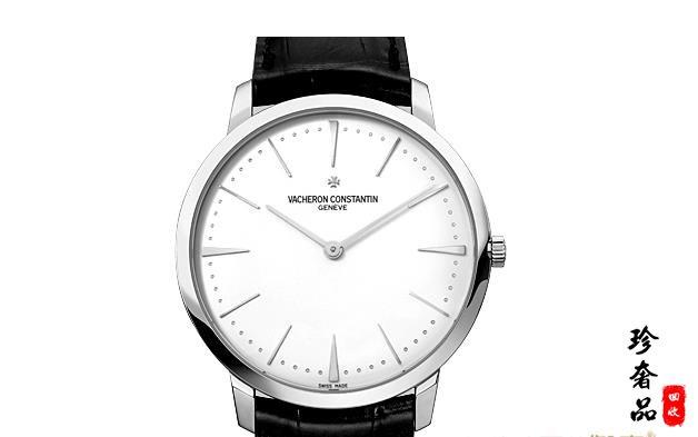 济南江诗丹顿81180/000G-9117白金手表回收价格