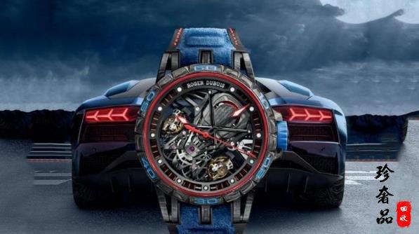 罗杰杜彼Excalibur Aventador S 腕表功能与细节介绍