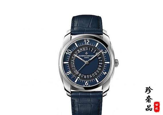 济南哪里回收江诗丹顿新款蓝面精钢手表价格高