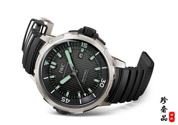 济南万国IW358002海洋计时手表回收价格有多少钱