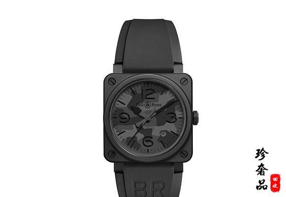 济南柏莱士BR03-92 Black Camo系列手表回收店推荐