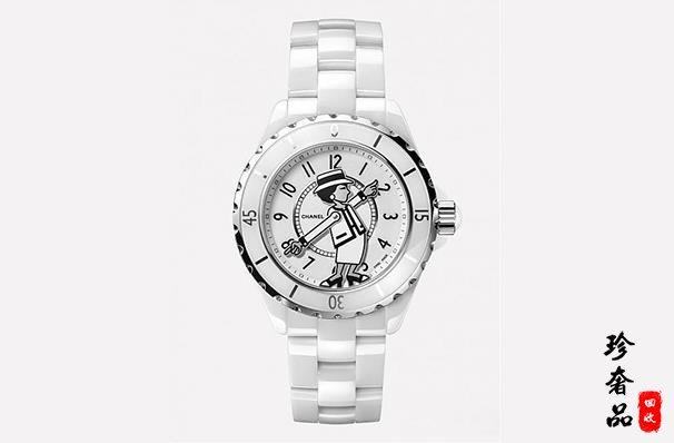 济南二手香奈儿J12手表哪里能高价回收