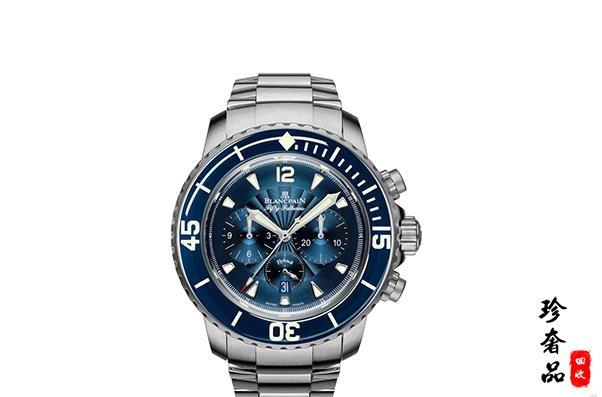 济南宝珀五十噚5085F.B计时手表回收价格如何