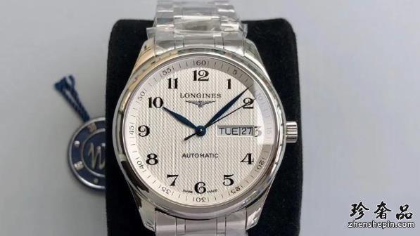 济南浪琴名匠系列男士入门款手表回收