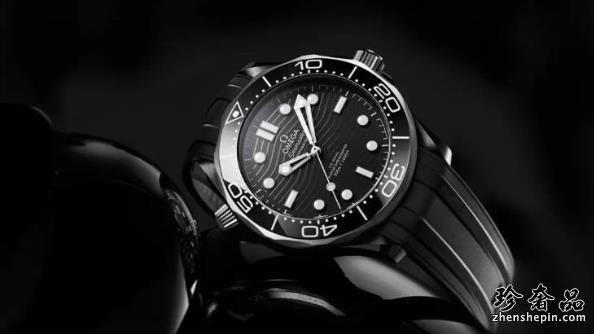 二手欧米茄海马300黑色陶瓷款潜水手表如何